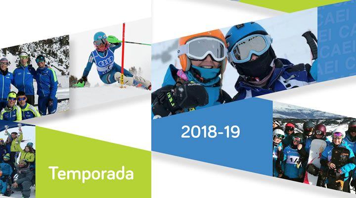 Información temporada 2018/2019