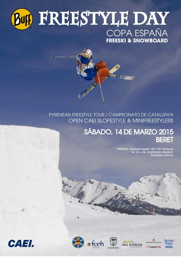 Freestyle day · Copa de España freeski & snowboard