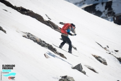 ORIOL FILELLA Y GUILHEM BERINI: 1º y 3º en la final  de snowboard DE ELDORADO FREERIDE JUNIOR