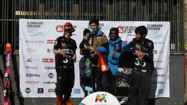 Eldorado freeride junior tour en Aramón-Cerler